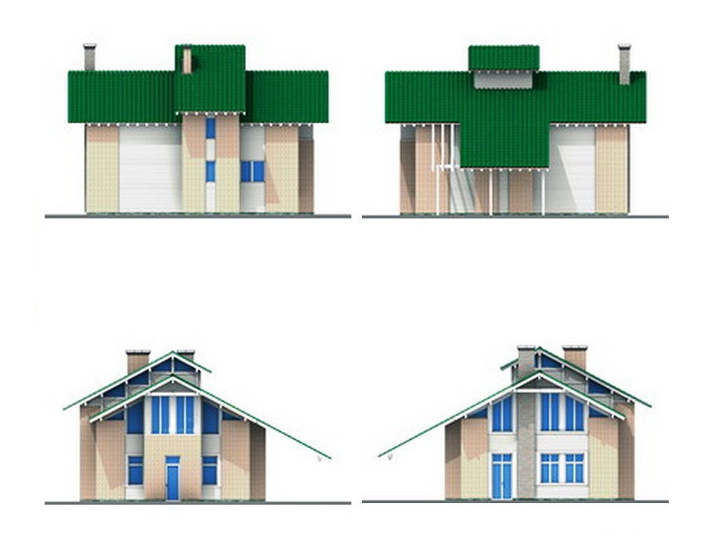 проект дома DNV123