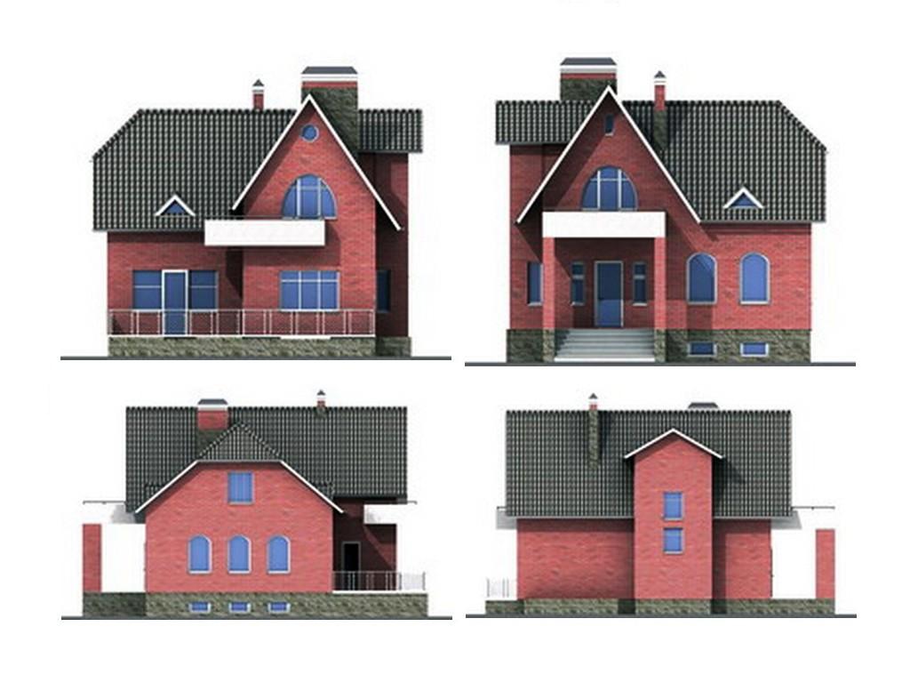 проект дома DNV120