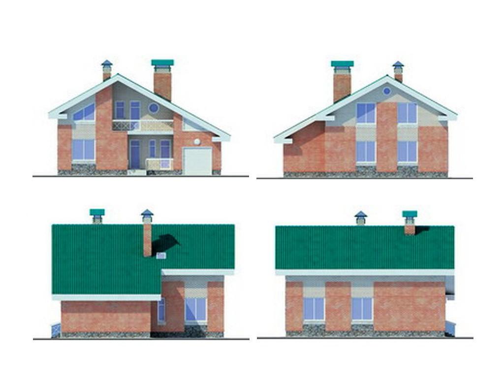 проект дома DNV118