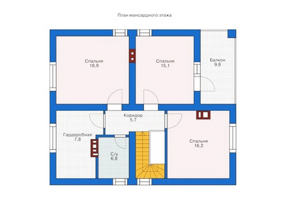 проект дома DNV114