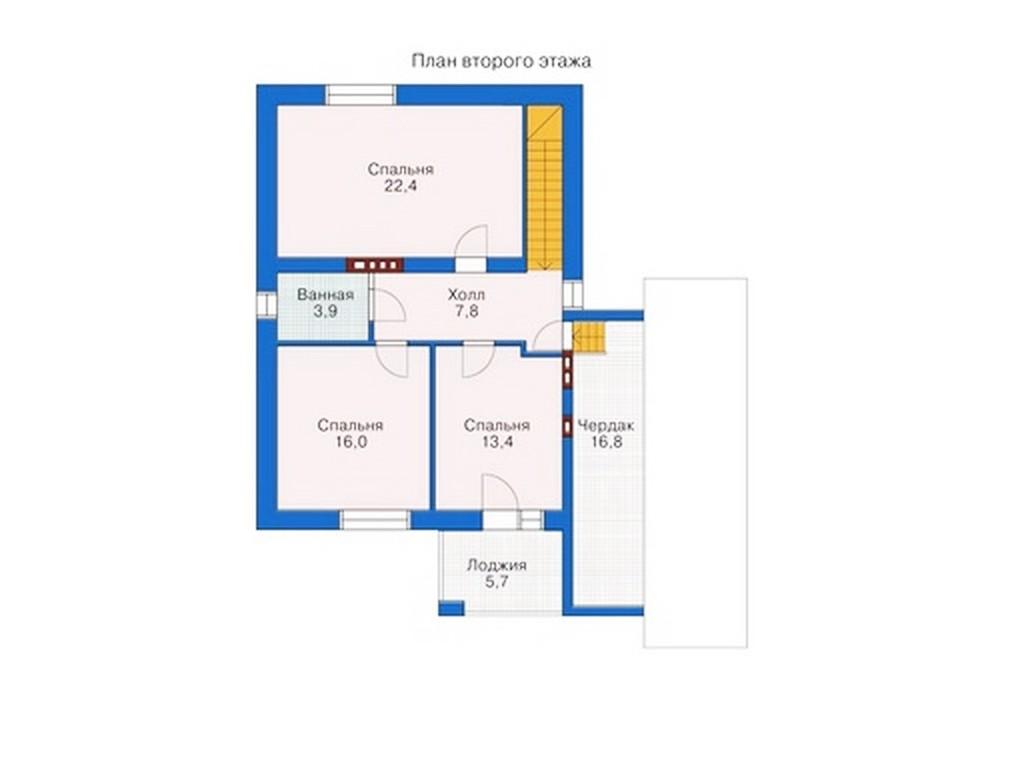 проект дома DNV110