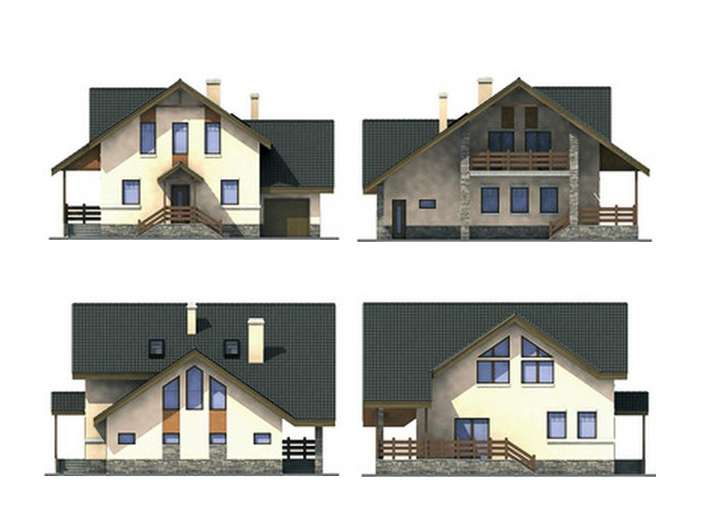 проект дома DNV109
