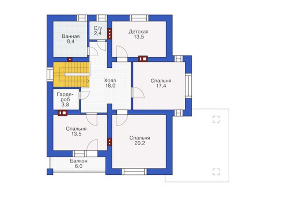 проект дома DNV108