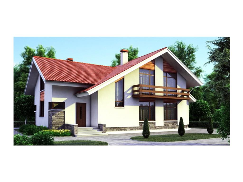 проект дома DNV107