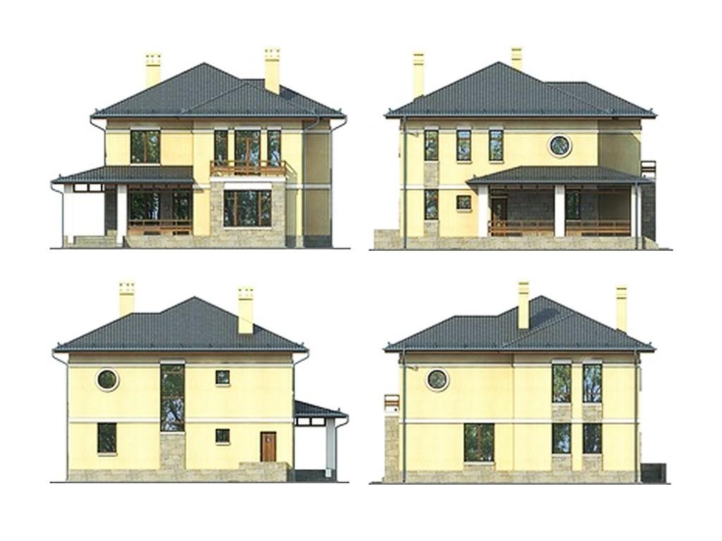 проект дома DNV106
