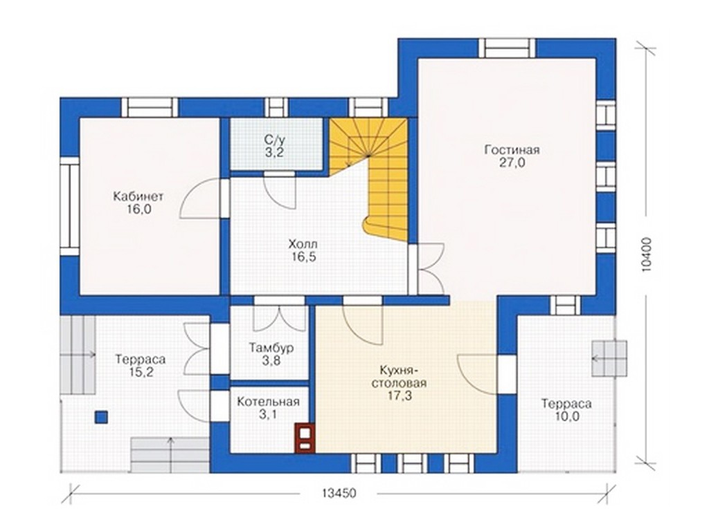 проект дома DNV102