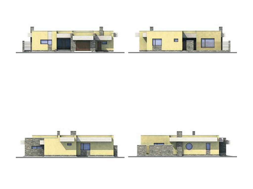 проект дома DNV100