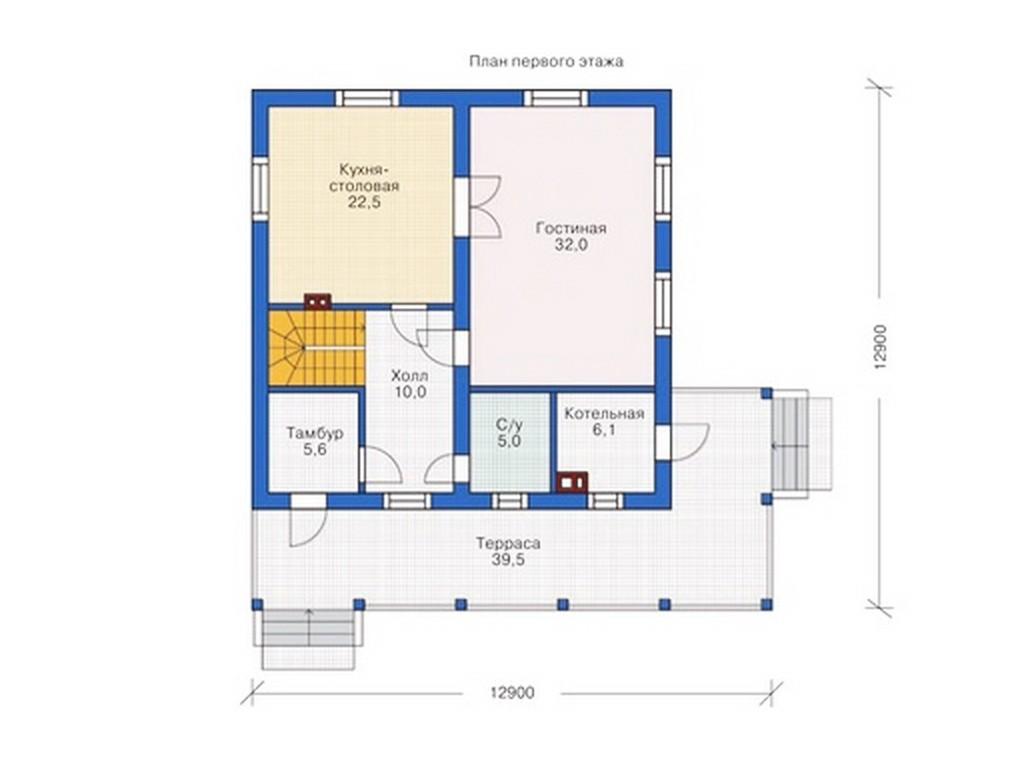 проект дома DNV099