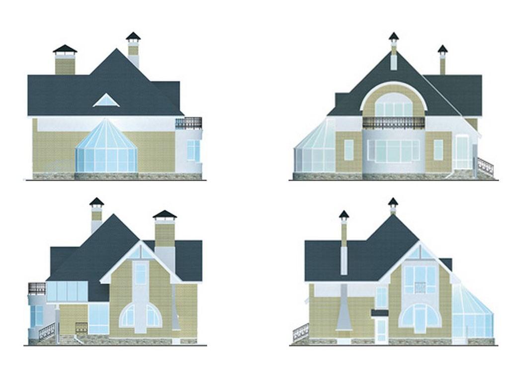 проект дома DNV096