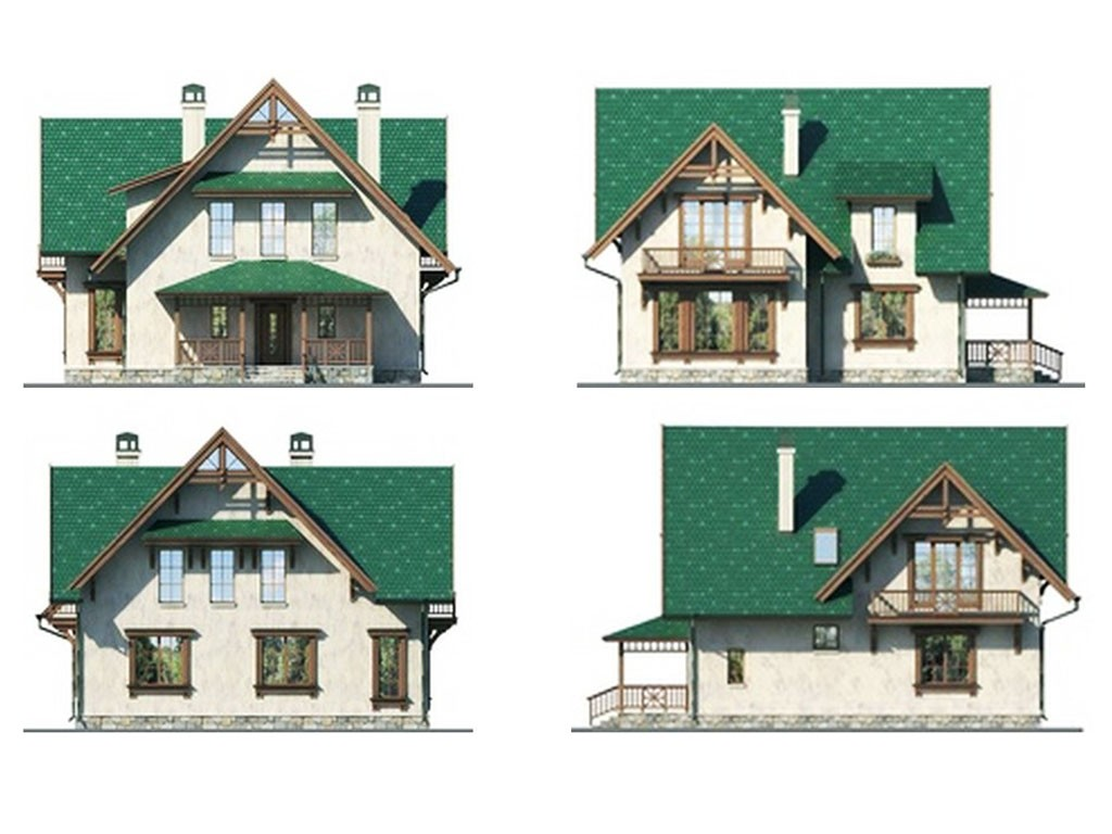 проект дома DNV093