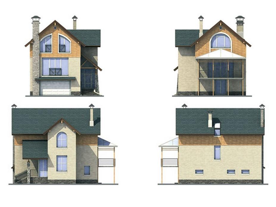 проект дома DNV092