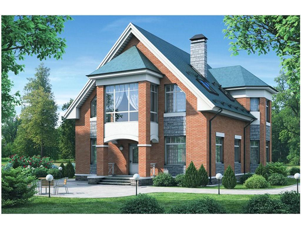 проект дома DNV090