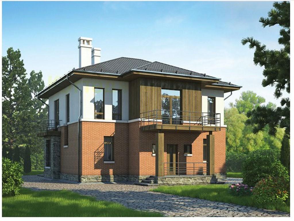 проект дома DNV087