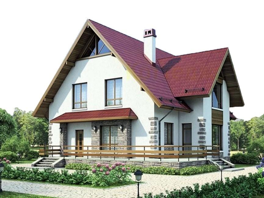 проект дома DNV086
