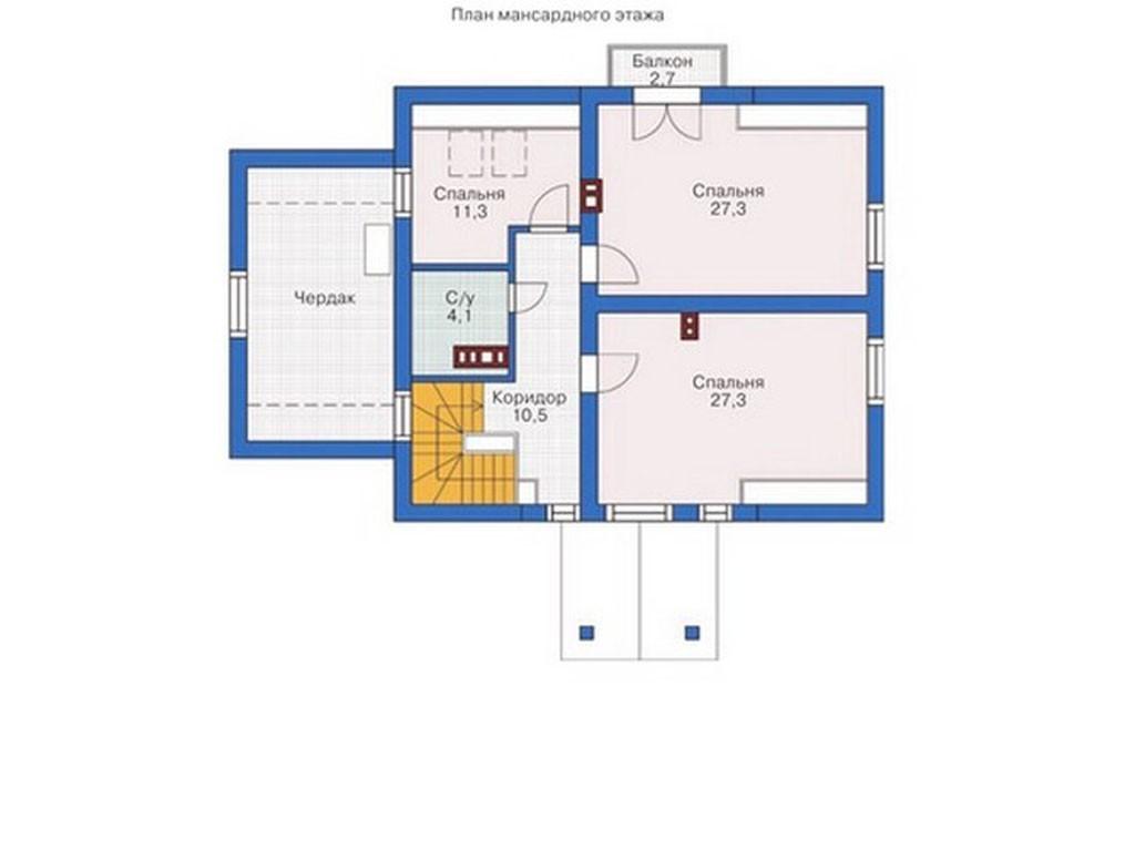 проект дома DNV084