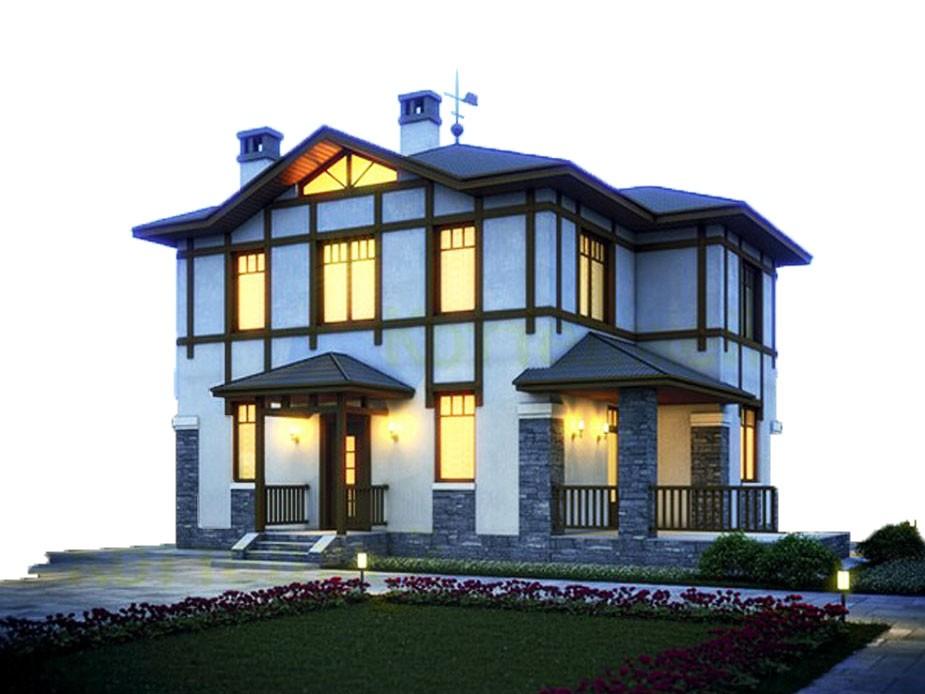 проект дома DNV075