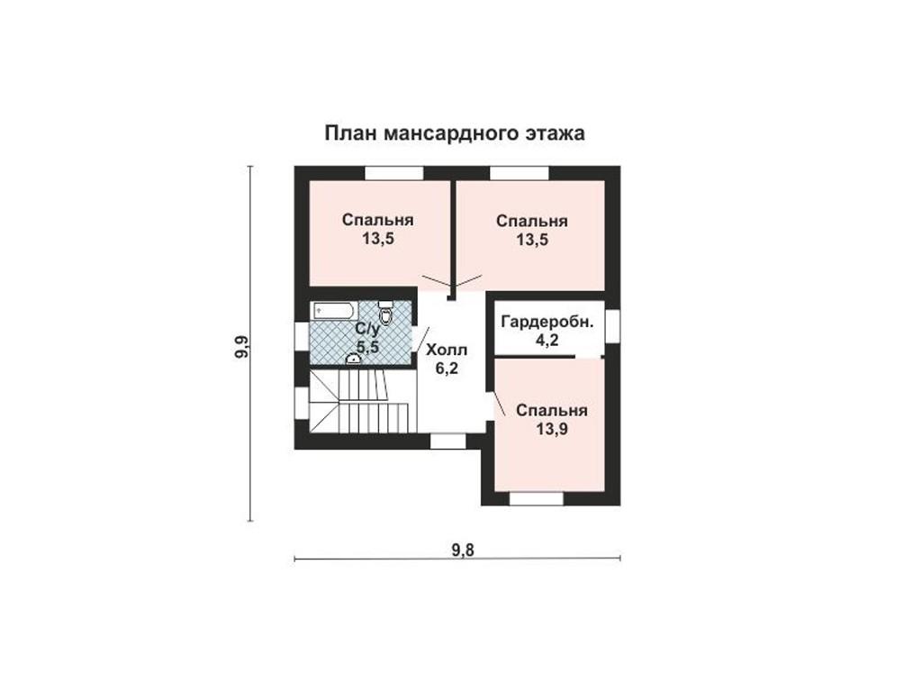 проект дома DNV071