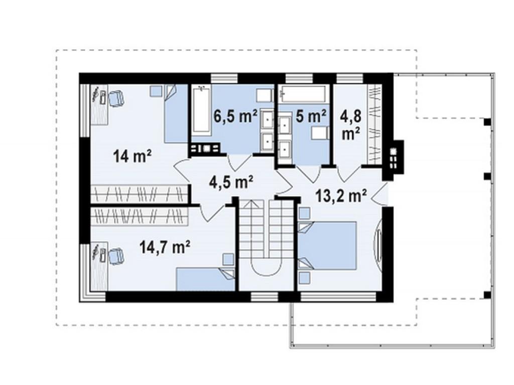 проект дома DNV069
