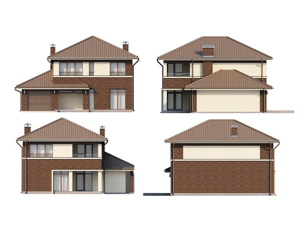 проект дома DNV068