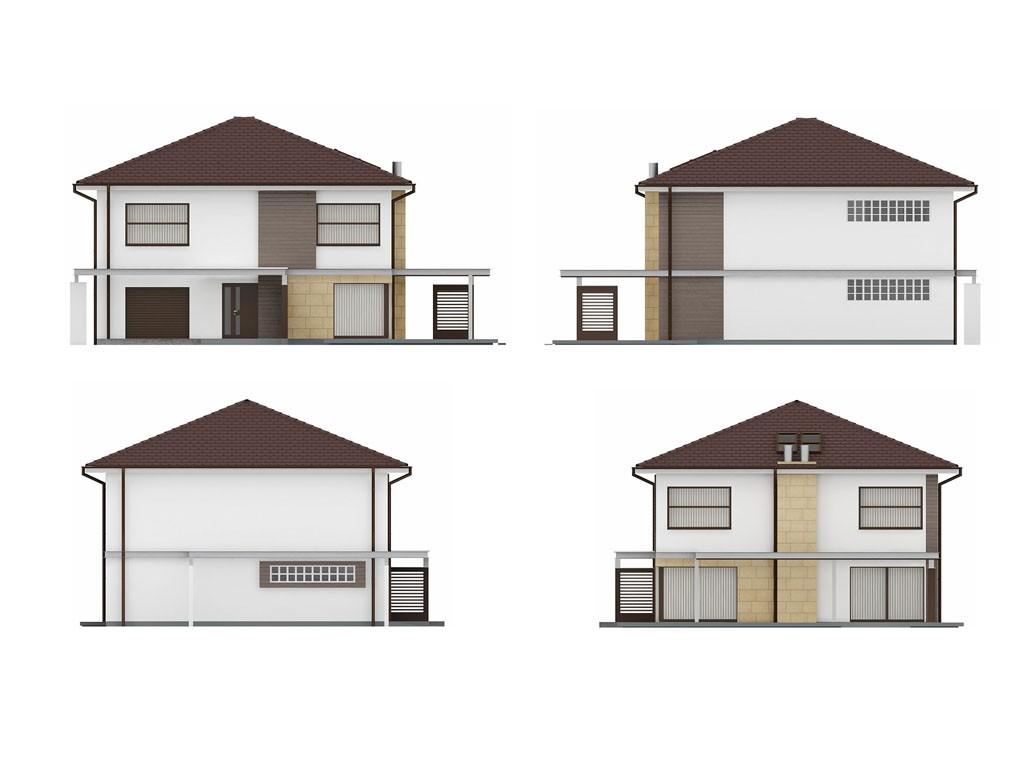 проект дома DNV067