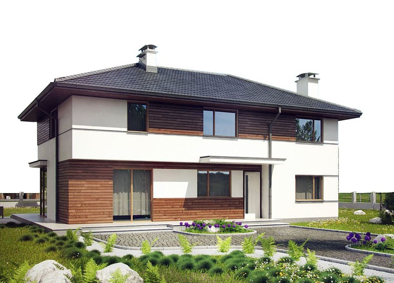 проект дома DNV064