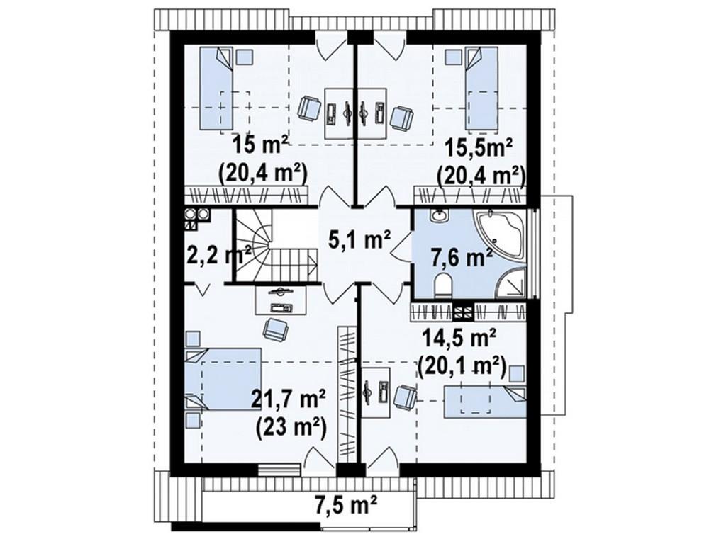 проект дома DNV063