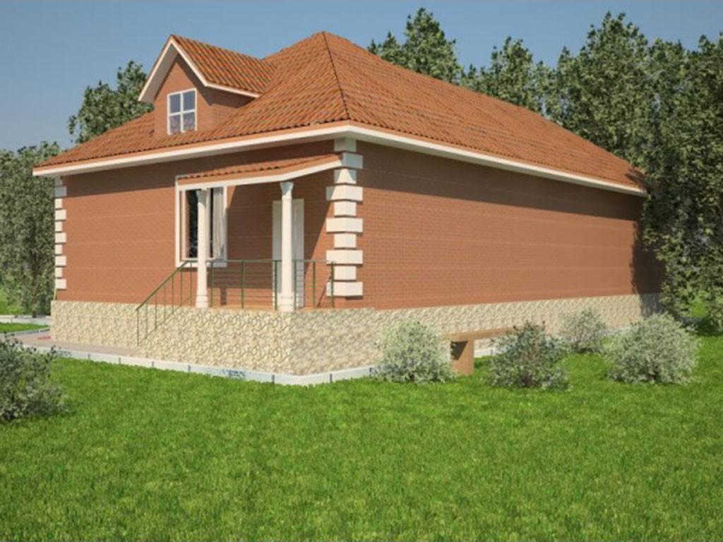 проект дома DNV061