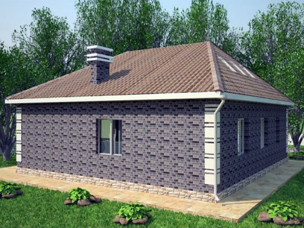 проект дома DNV060