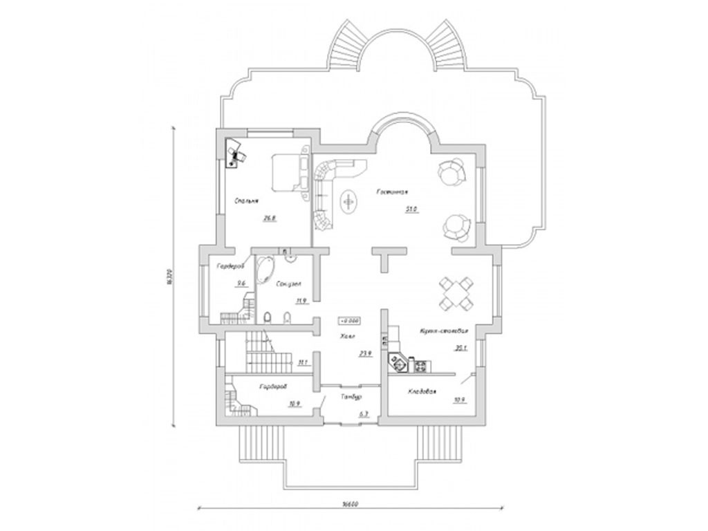 проект дома DNV059