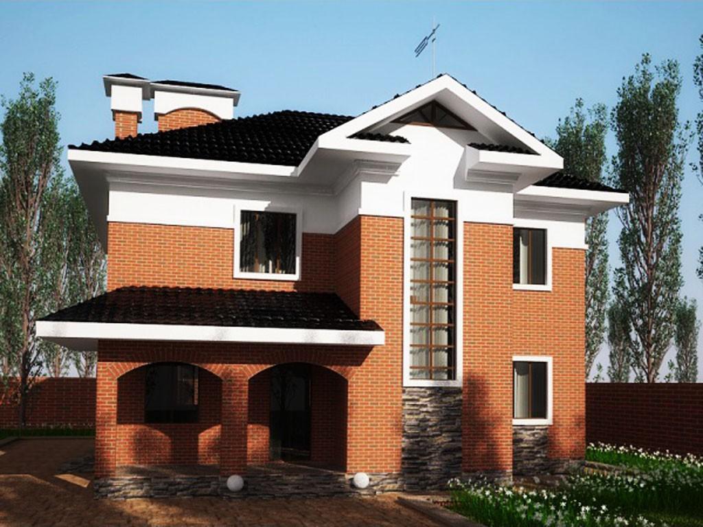 проект дома DNV056