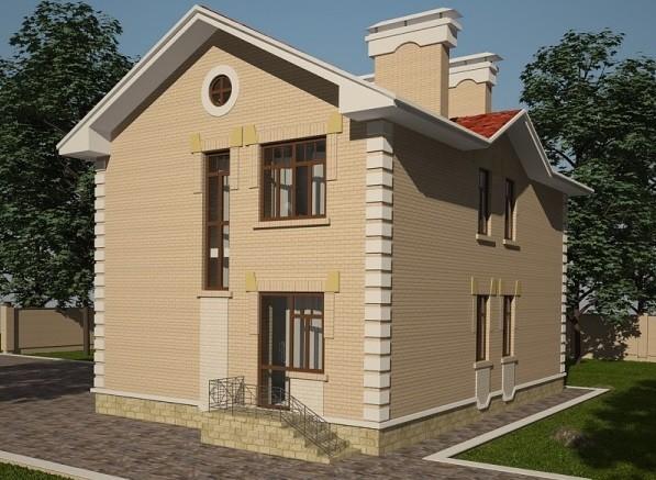 проект дома DNV055
