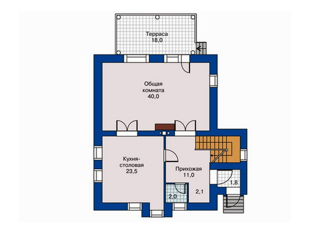 проект дома DNV053