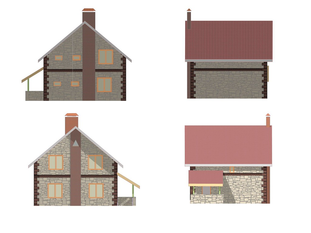 проект дома DNV051