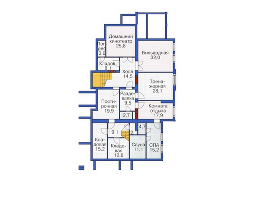 проект дома DNV049