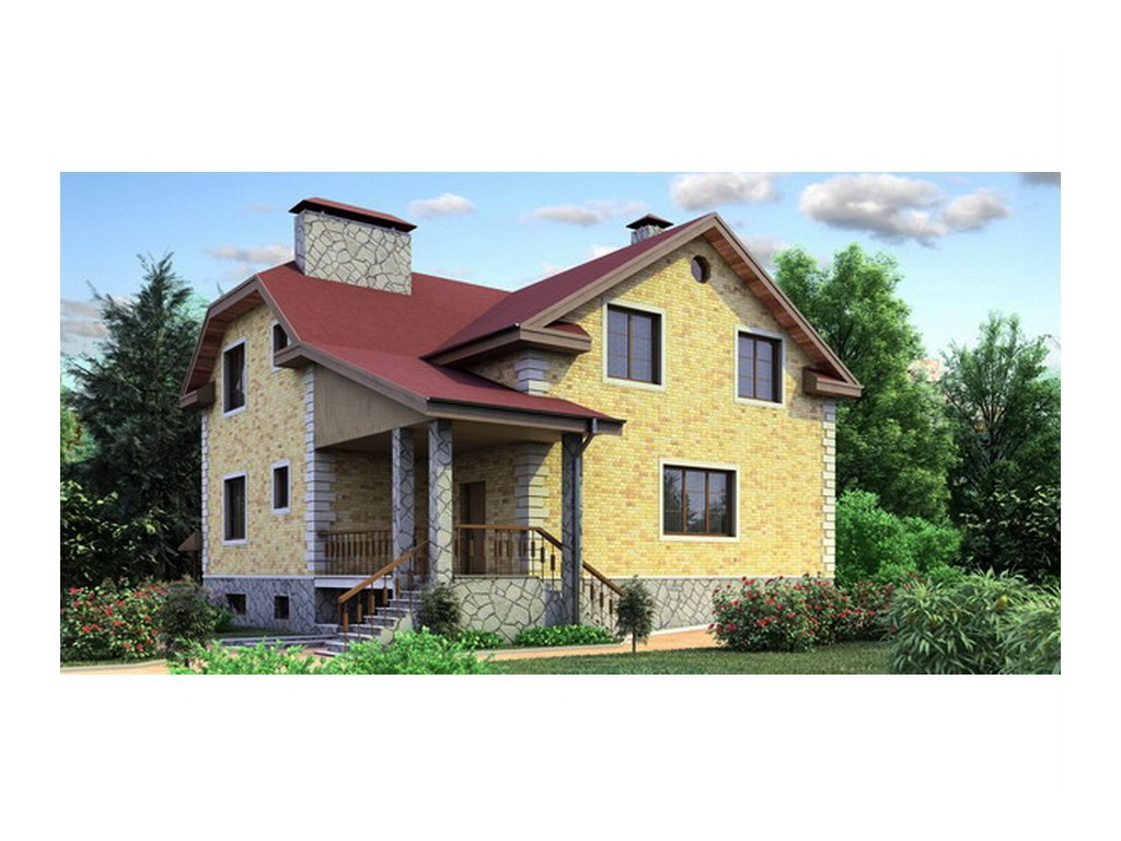 проект дома DNV047