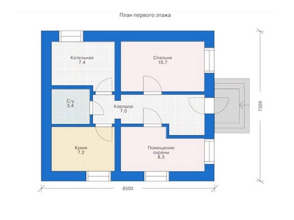 проект дома DNV045
