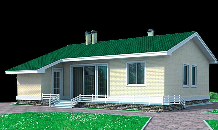 проект дома DNV043