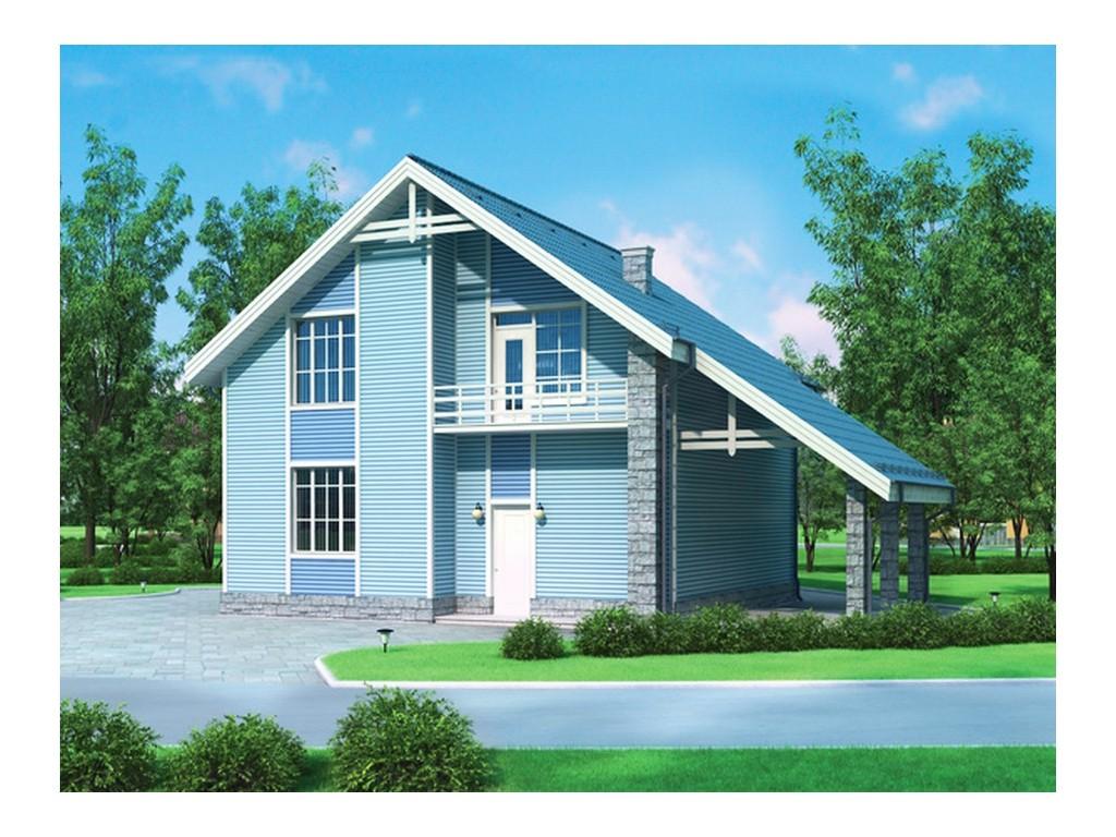 проект дома DNV040