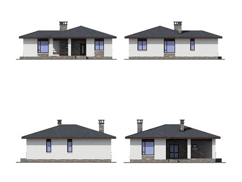 проект дома DNV039