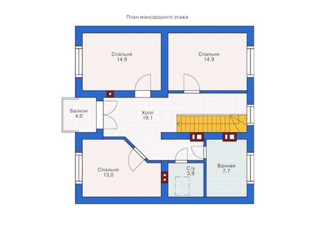 проект дома DNV038