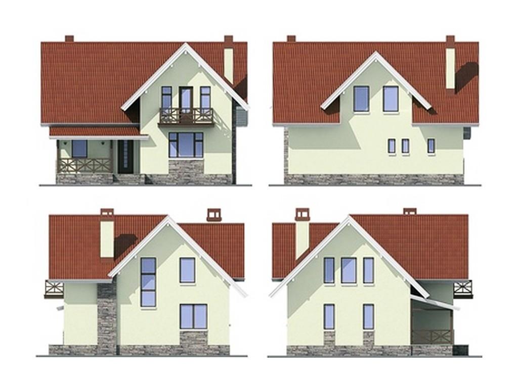 проект дома DNV034