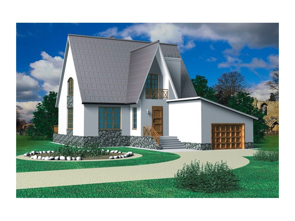 проект дома DNV031