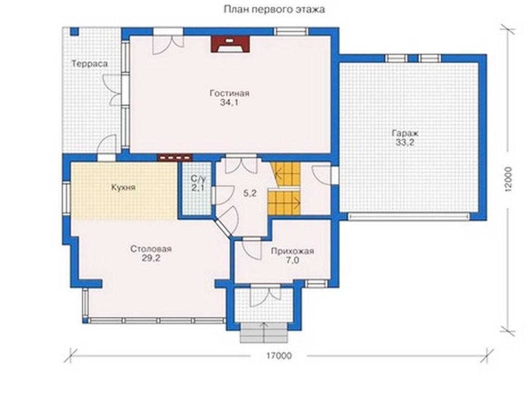 проект дома DNV028