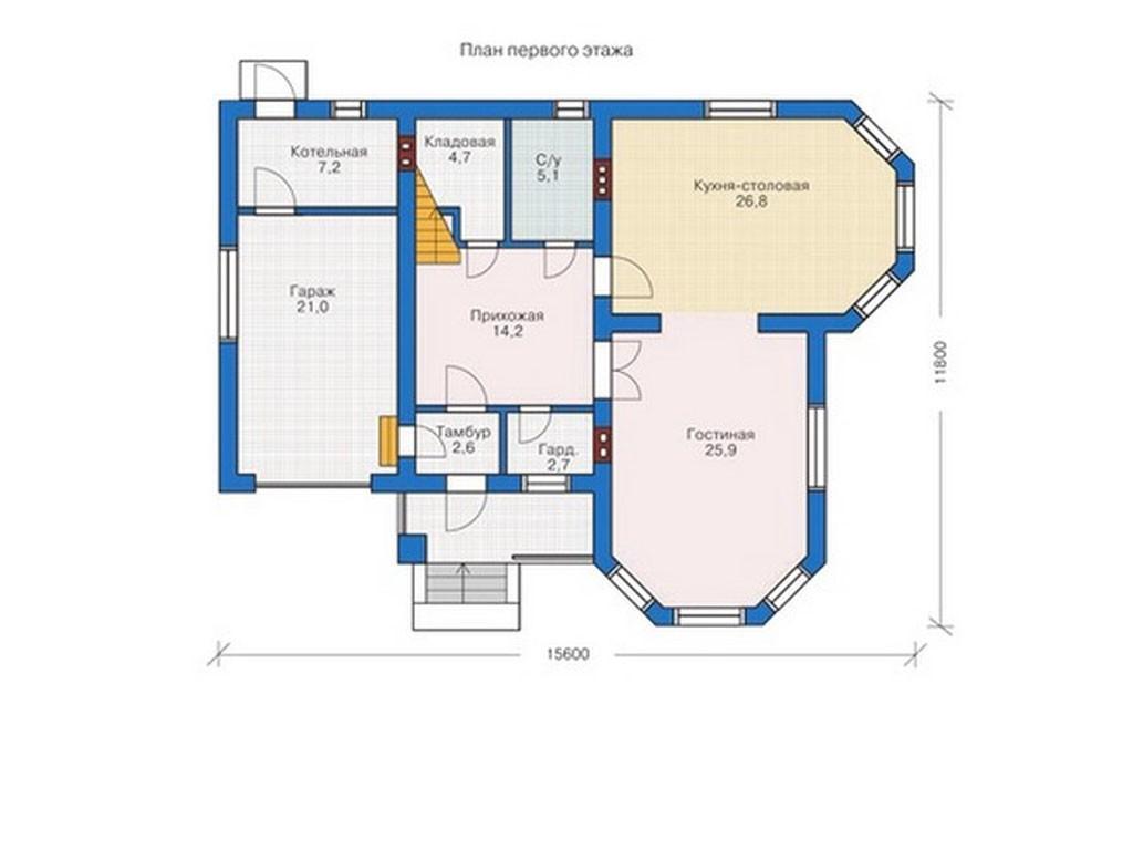 проект дома DNV025
