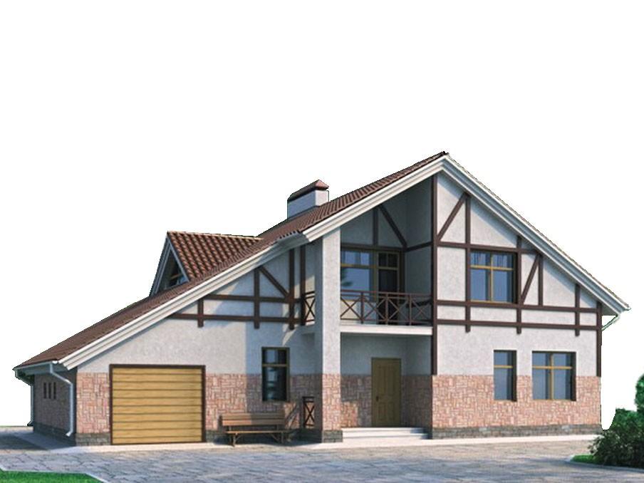 проект дома DNV021