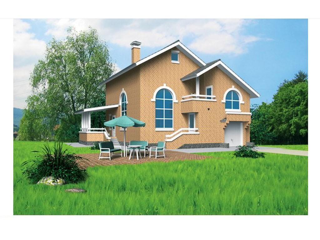 проект дома DNV019