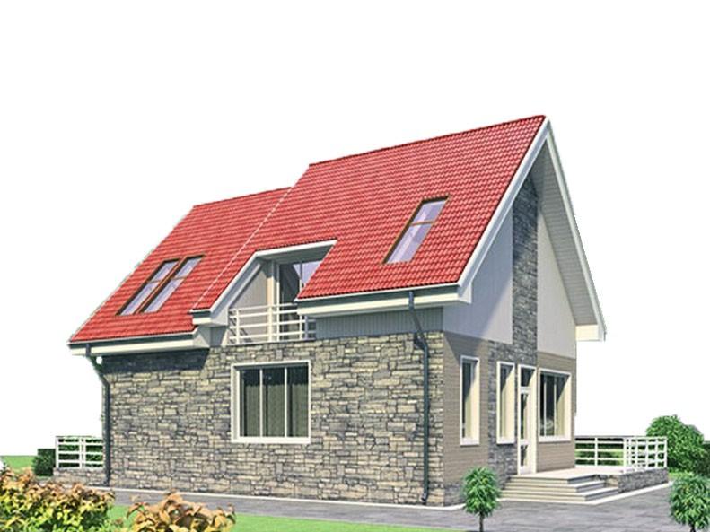 проект дома DNV018