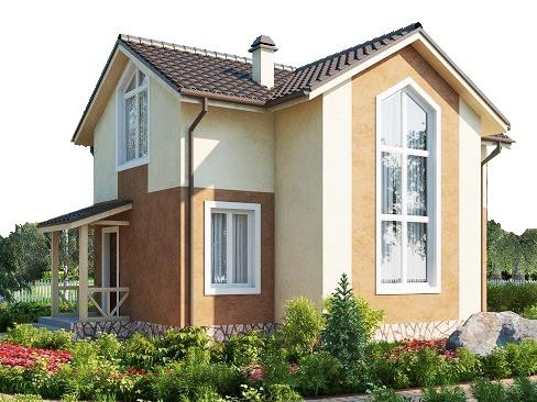 проект дома DNV009