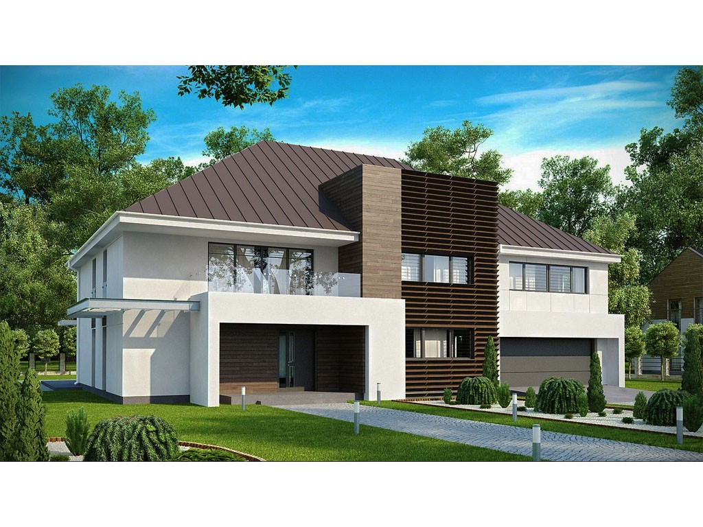 проект дома DNV006